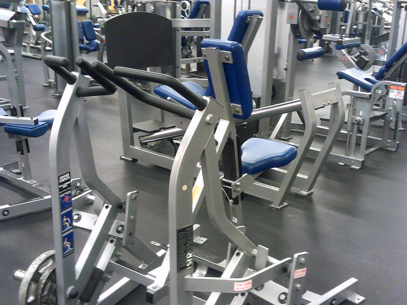 Life Fitness Hammer Strength used commercial gym package ...